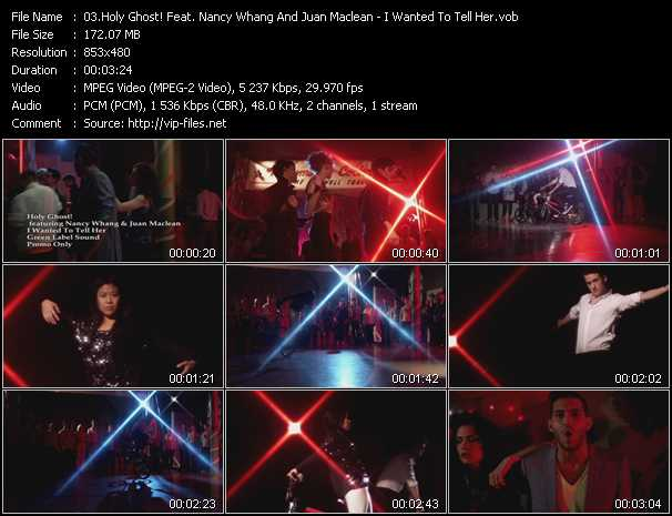 Holy Ghost! Feat. Nancy Whang And Juan Maclean video screenshot