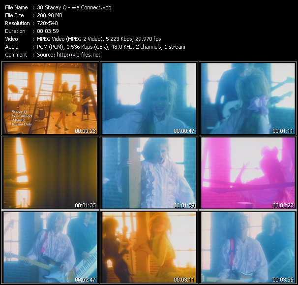 Stacey Q video screenshot