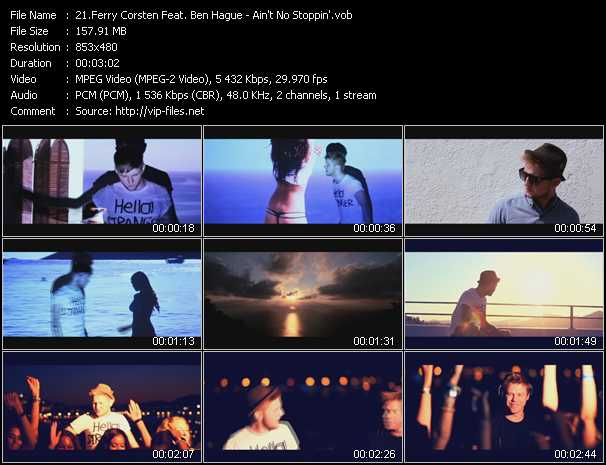 Ferry Corsten Feat. Ben Hague video screenshot