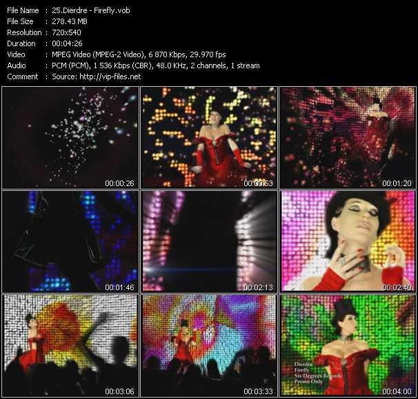 Dierdre video screenshot