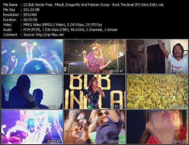 Bob Sinclar Feat. Pitbull, Dragonfly And Fatman Scoop video screenshot