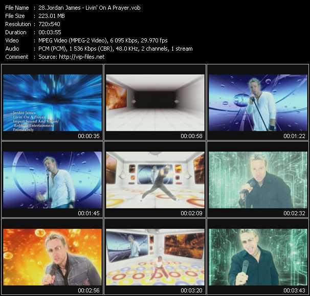 Jordan James video screenshot