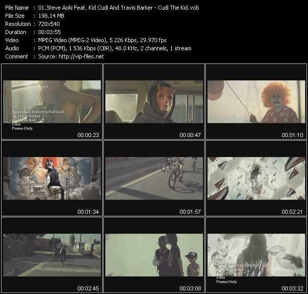 Steve Aoki Feat. Kid Cudi And Travis Barker video screenshot
