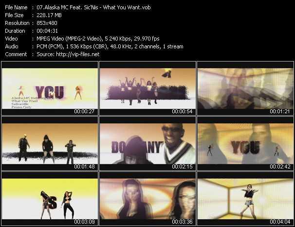Alaska MC Feat. Sic'Nis video screenshot