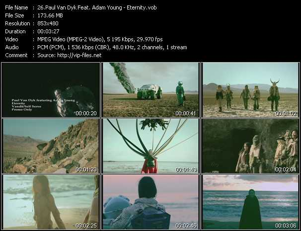 Paul Van Dyk Feat. Adam Young video screenshot