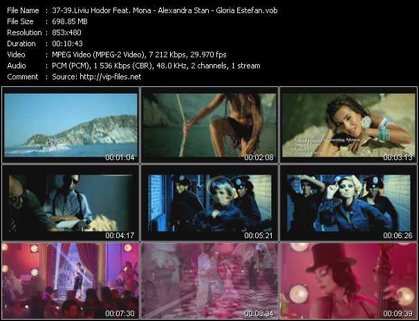 Liviu Hodor Feat. Mona - Alexandra Stan - Gloria Estefan video screenshot