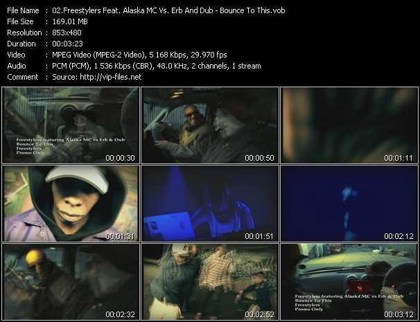 Freestylers Feat. Alaska MC Vs. Erb And Dub video screenshot