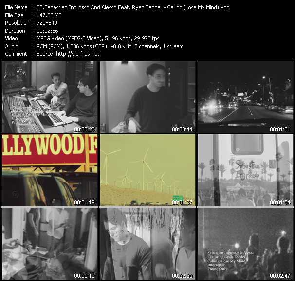 Sebastian Ingrosso And Alesso Feat. Ryan Tedder video screenshot