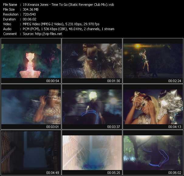 Kwanza Jones video screenshot