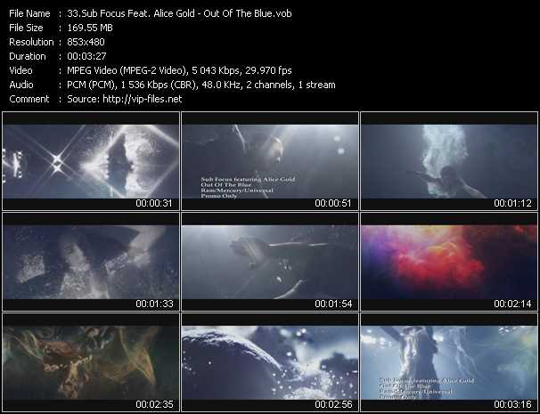 Sub Focus Feat. Alice Gold video screenshot