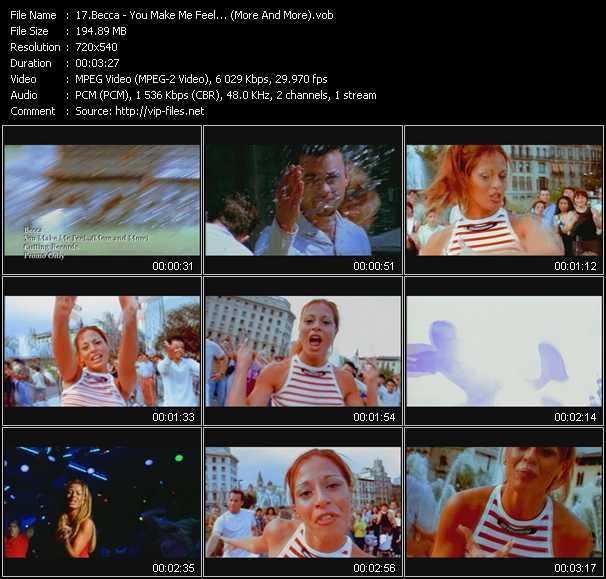 Becca video screenshot