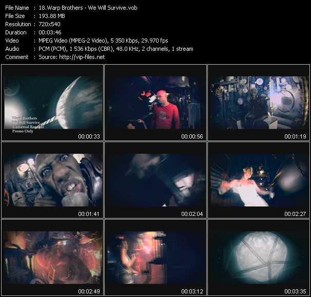 Warp Brothers video screenshot