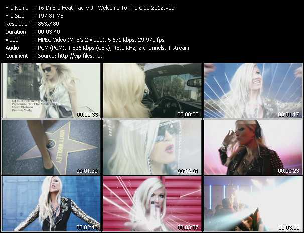 Dj Ella Feat. Ricky J video screenshot