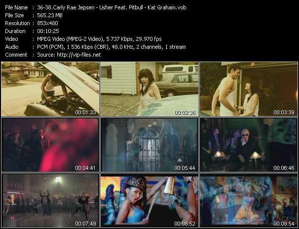 Carly Rae Jepsen - Usher Feat. Pitbull - Kat Graham video screenshot