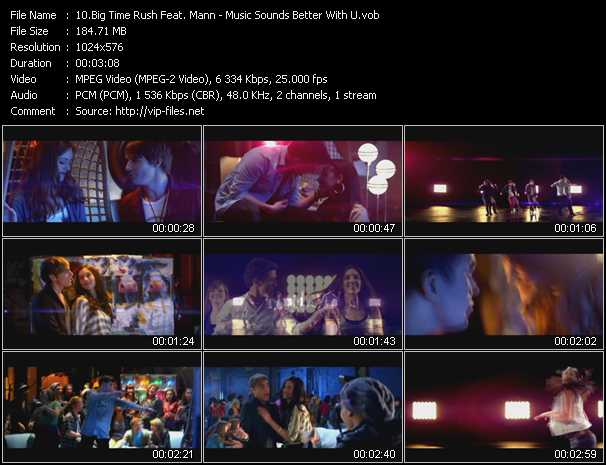 Big Time Rush Feat. Mann video screenshot