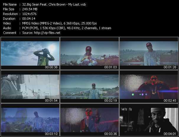 Big Sean Feat. Chris Brown video screenshot