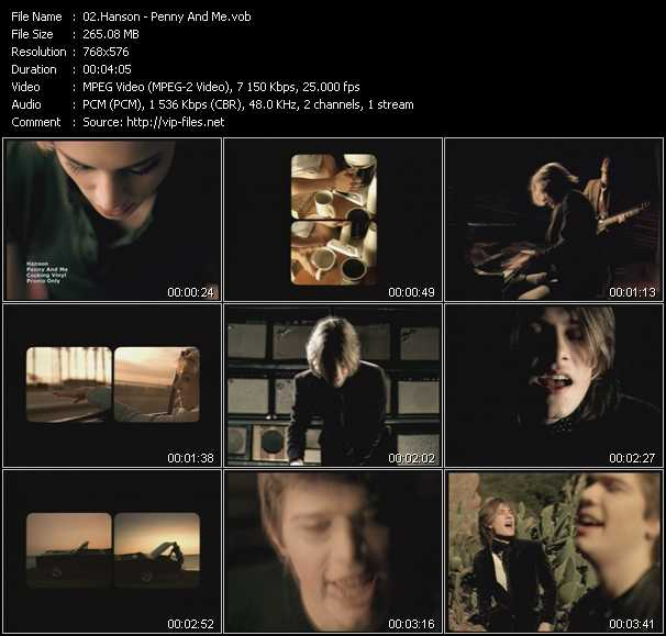 Hanson video screenshot