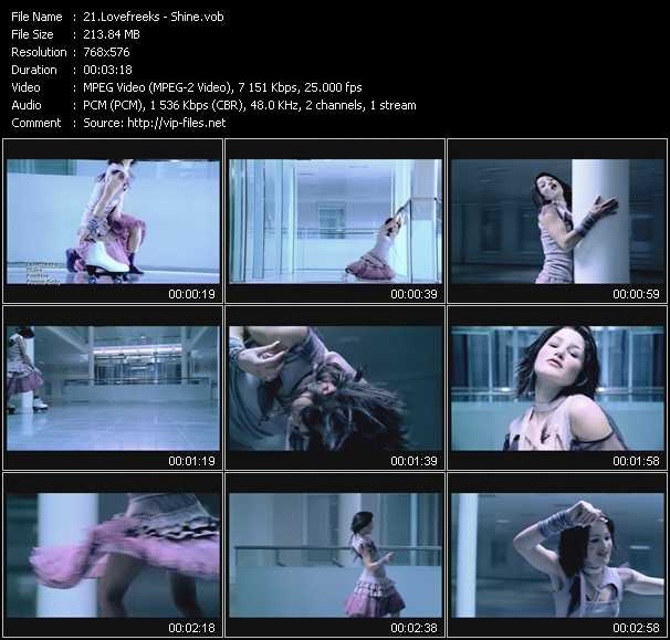 Lovefreekz video screenshot