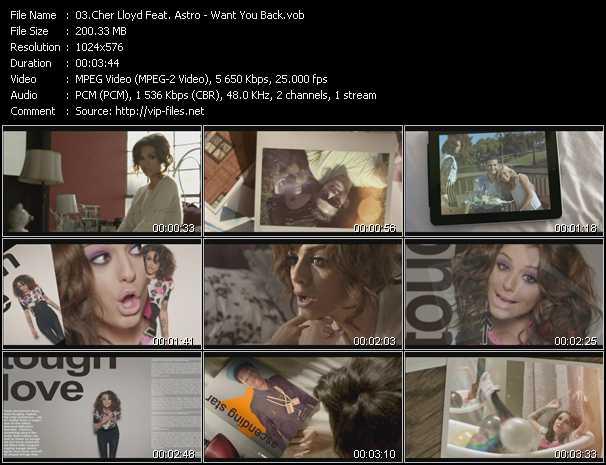Cher Lloyd Feat. Astro video screenshot