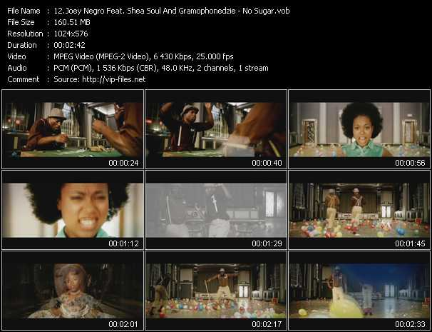 Joey Negro Feat. Shea Soul And Gramophonedzie video screenshot