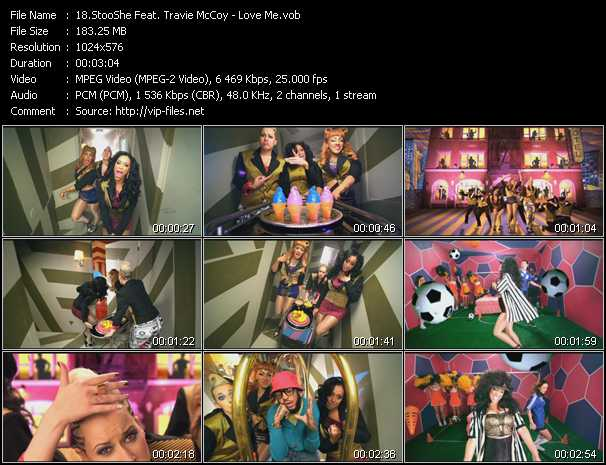 StooShe Feat. Travis McCoy video screenshot
