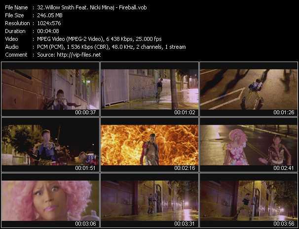 Willow Smith Feat. Nicki Minaj video screenshot