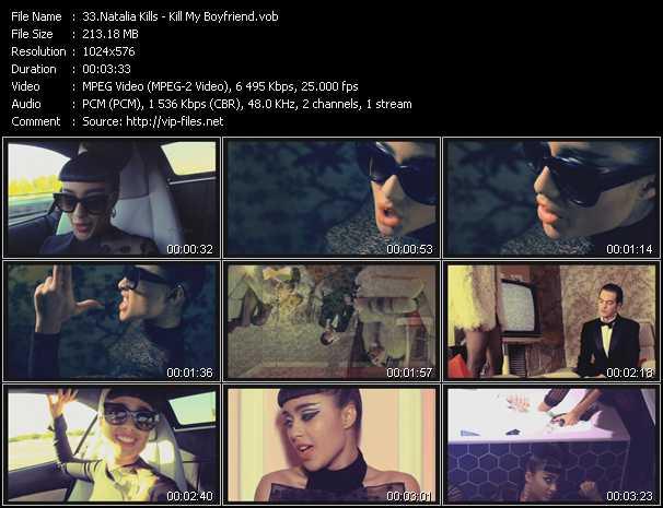 Natalia Kills video screenshot