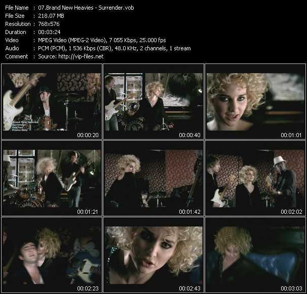 video Surrender screen