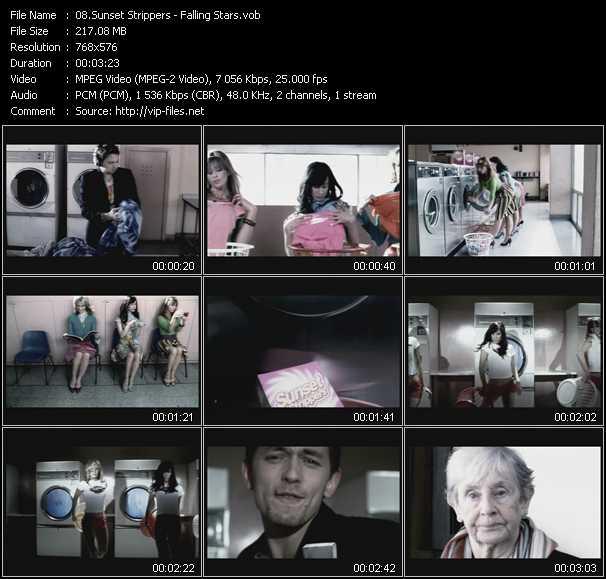Sunset Strippers video screenshot