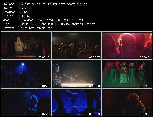 Scissor Sisters Feat. Krystal Pepsy video screenshot