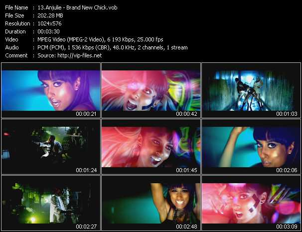 Anjulie video screenshot