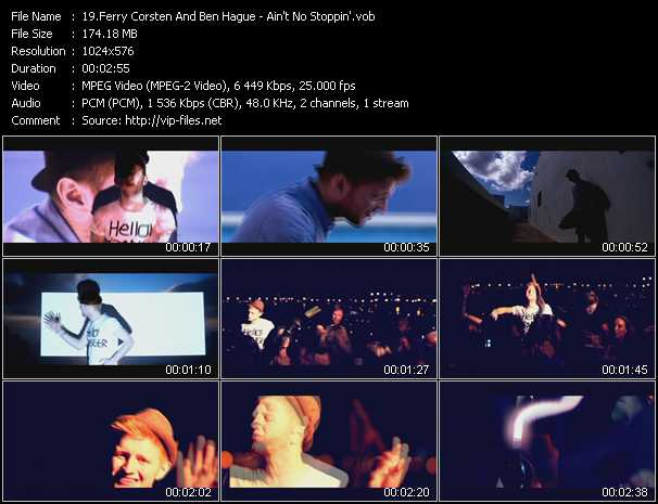Ferry Corsten And Ben Hague video screenshot