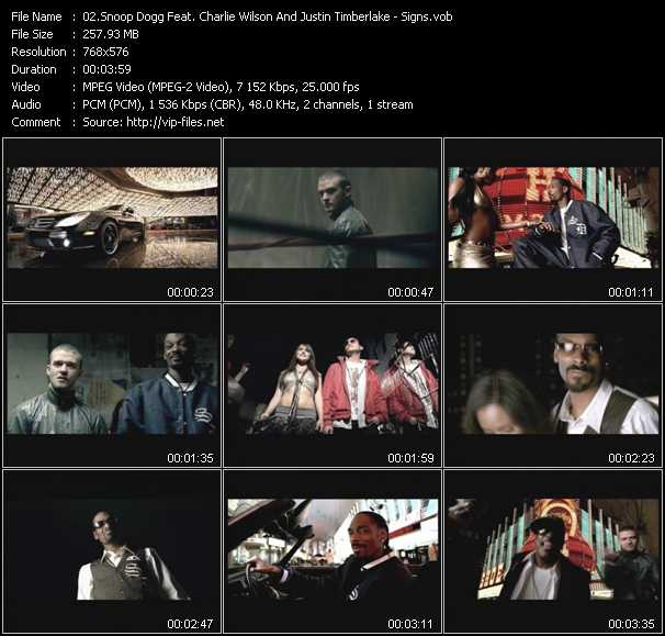 Snoop Dogg Feat. Charlie Wilson And Justin Timberlake video screenshot