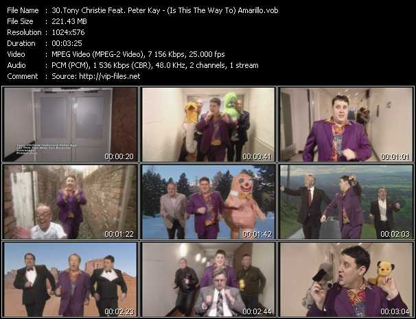 Tony Christie Feat. Peter Kay video screenshot