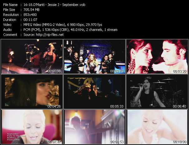 D'Manti - Jessie J - September video screenshot