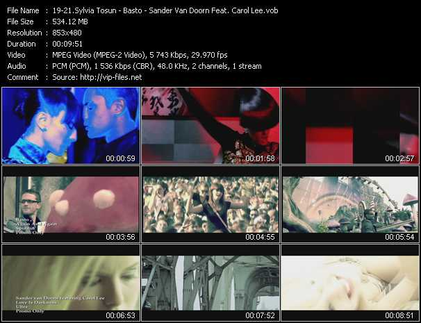 Sylvia Tosun - Basto! - Sander Van Doorn Feat. Carol Lee video screenshot