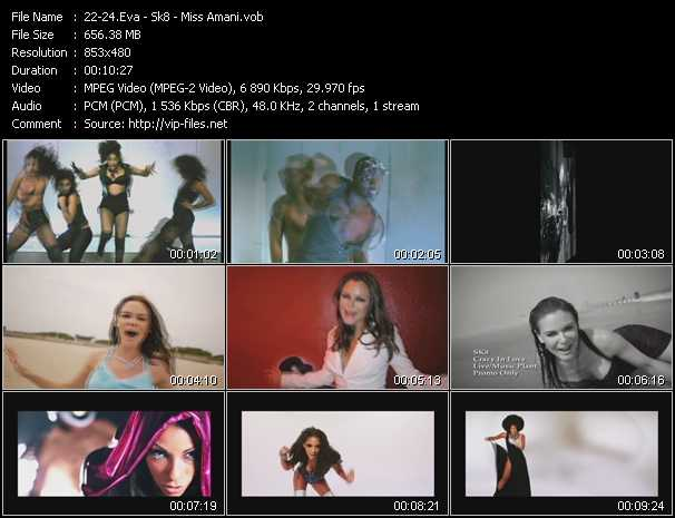 Eva - Sk8 - Miss Amani video screenshot