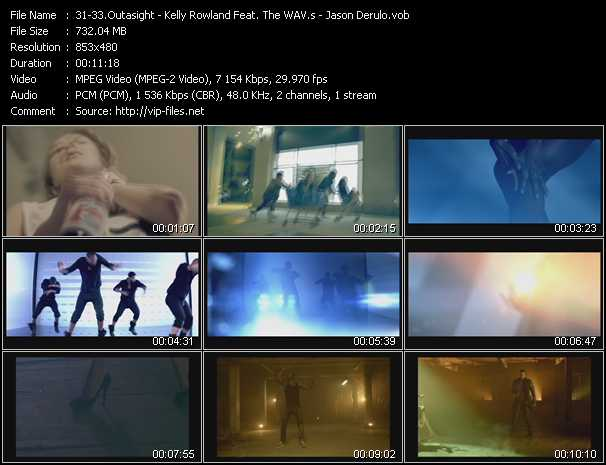 Outasight - Kelly Rowland Feat. The Wav.S - Jason Derulo video screenshot