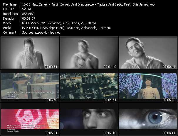 Matt Zarley - Martin Solveig And Dragonette Feat. Idoling!!! - Matisse And Sadko Feat. Ollie James video screenshot
