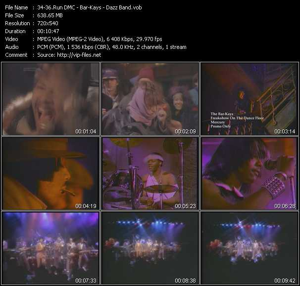 Run DMC - Bar-Kays - Dazz Band video screenshot