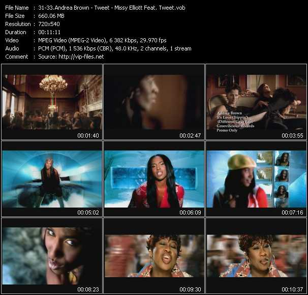 Andrea Brown - Tweet - Missy Elliott Feat. Tweet video screenshot