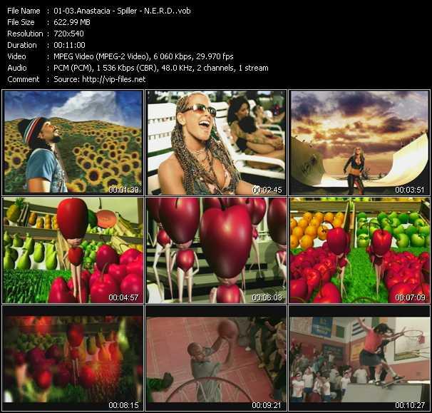Anastacia - Spiller - N.E.R.D. video screenshot