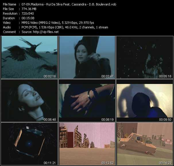 Madonna - Rui Da Silva Feat. Cassandra - Db Boulevard video screenshot