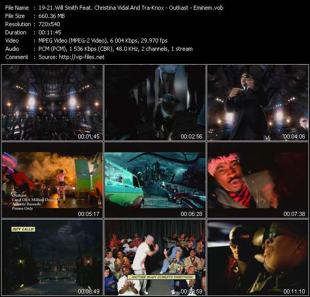 Will Smith Feat. Christina Vidal And Tra-Knox - Outkast - Eminem video screenshot