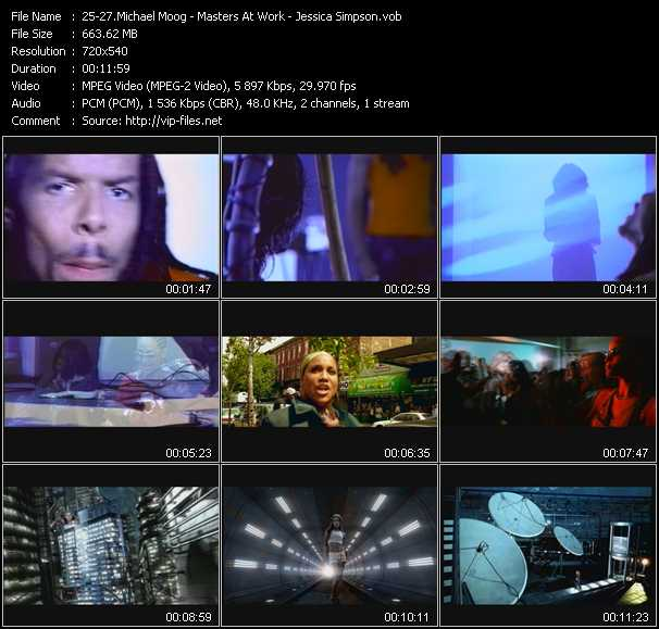 Michael Moog - Masters At Work - Jessica Simpson video screenshot