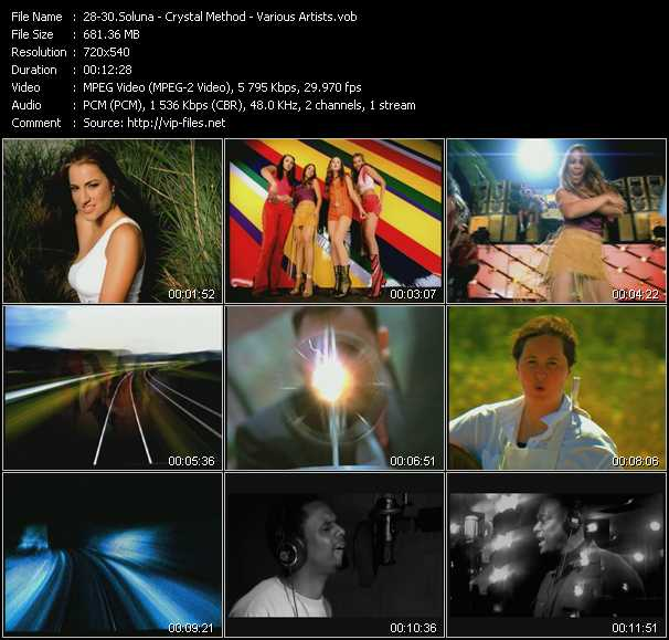 Soluna - Crystal Method - Various Artists video screenshot