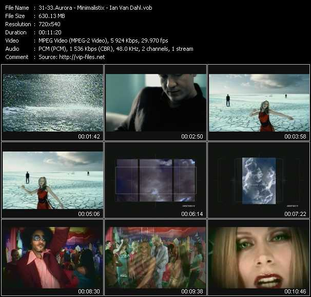 Aurora - Minimalistix - Ian Van Dahl video screenshot