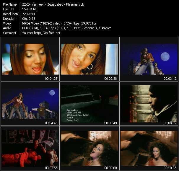 Yasmeen - Sugababes - Rhianna video screenshot
