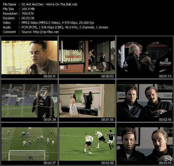 Ant And Dec video screenshot