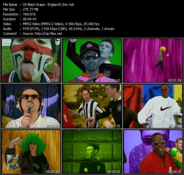 Black Grape video screenshot
